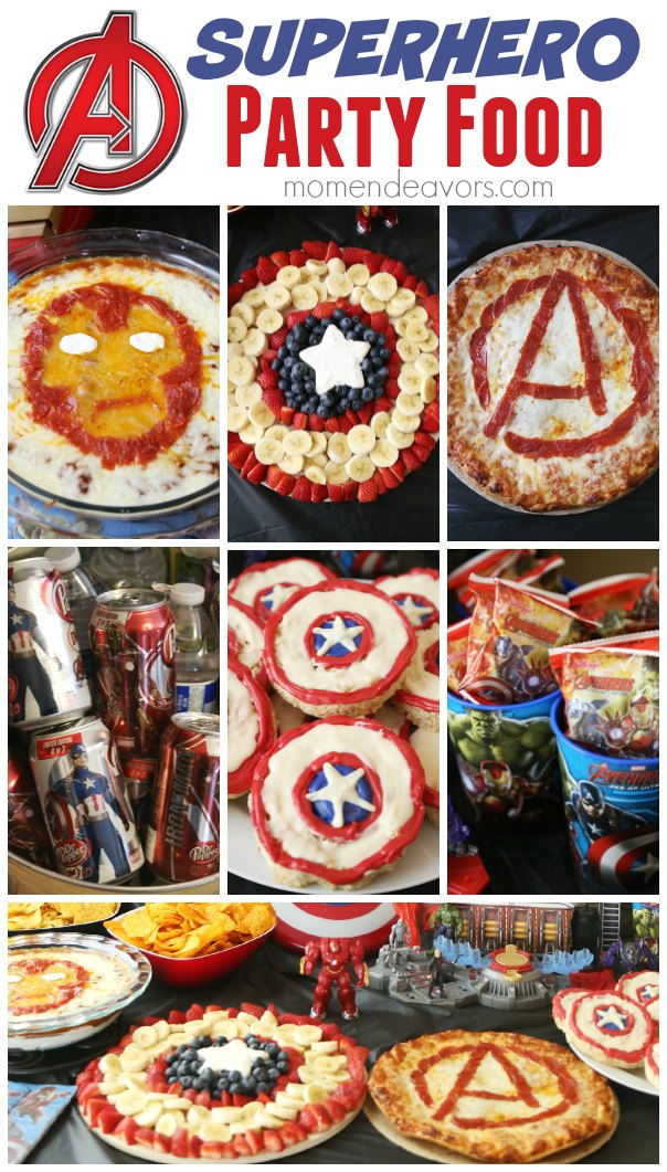Avengers Party Superhero Activities Fun Food Ideas