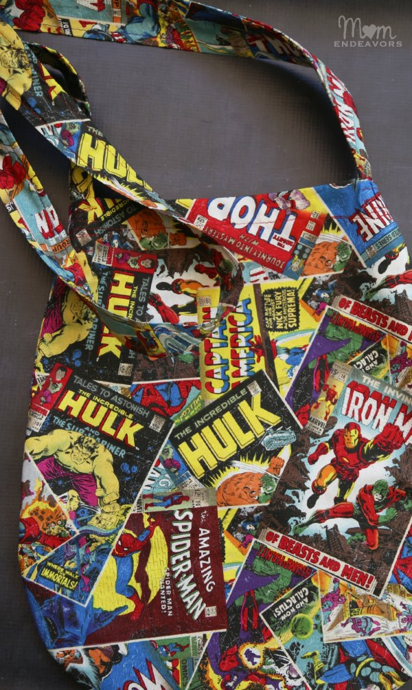 DIY Marvel Comics Bag