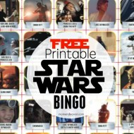 FREE Printable Star Wars Activities – Bingo & Movie Trivia