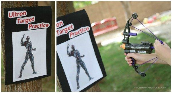 Hawkeye's Ultron Target Practice Activity