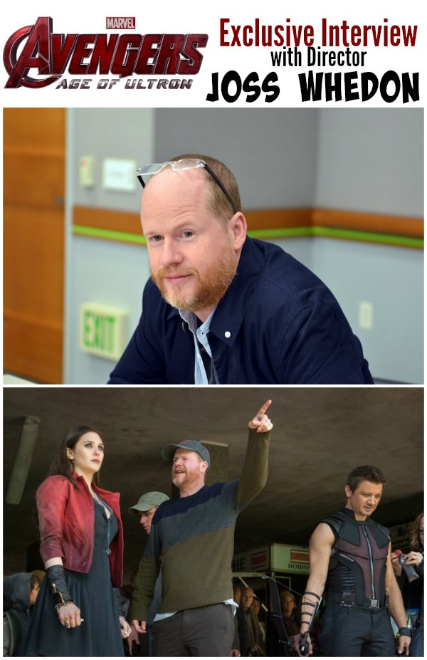Joss Whedon Interview #AvengersEvent