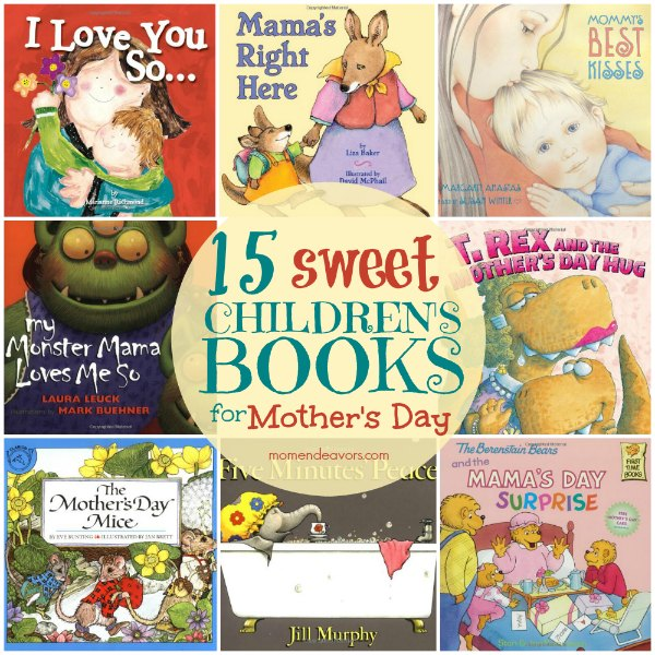 Mother S Day Cookbook Cover ~ Sweet mother s day books