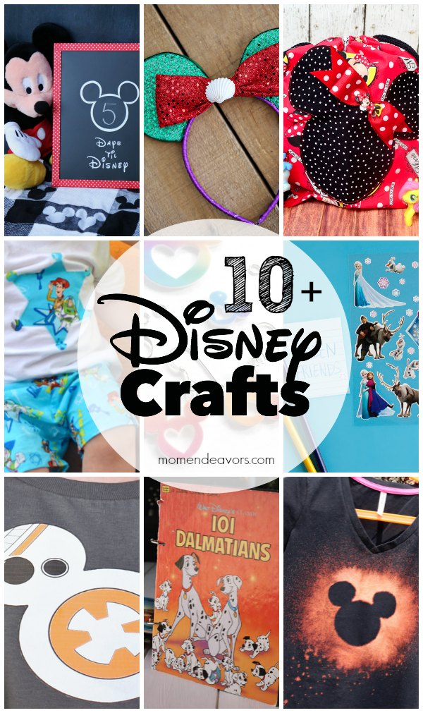 10+ DIY Disney Crafts
