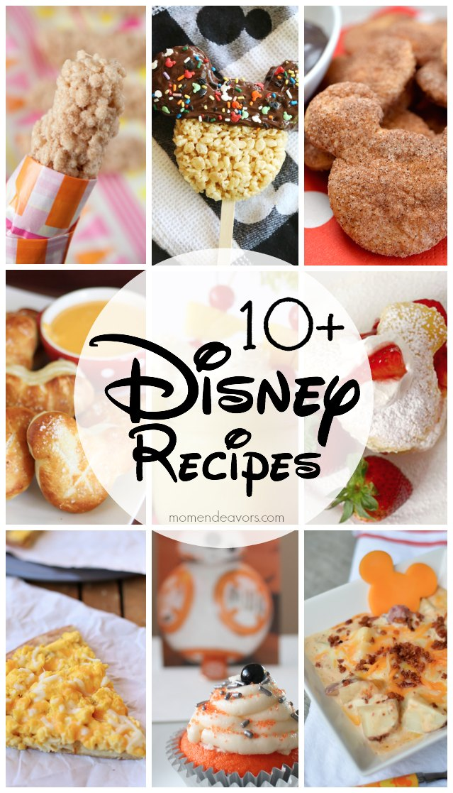 10+ Disney Recipes