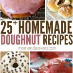 25+ Homemade Donut Recipes