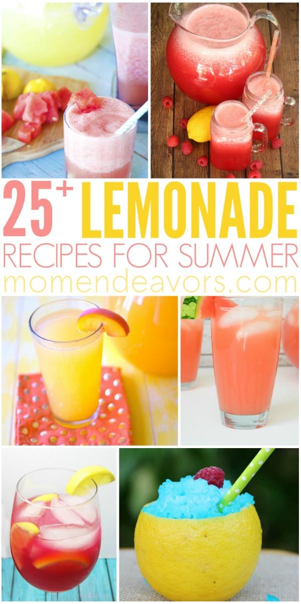 25+ Lemonade Recipes