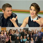 Avengers Hawkeye & Maria Hill Interview