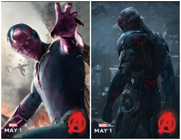 Avengers Vision & Ultron