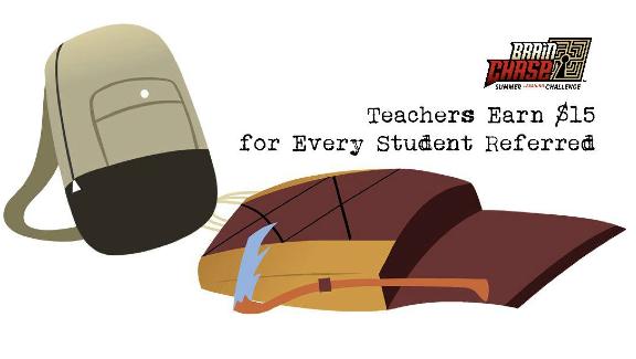 Brain Chase Teacher Referral Program