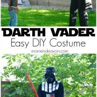 Easy DIY Darth Vader Star Wars Costume