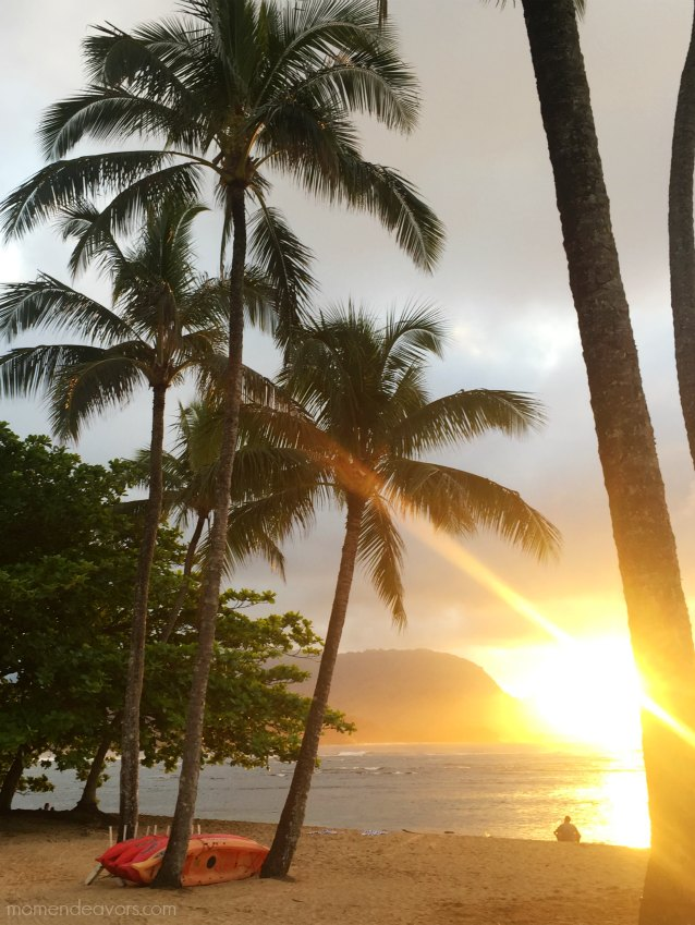 Hanalei Bay Resort Sunset