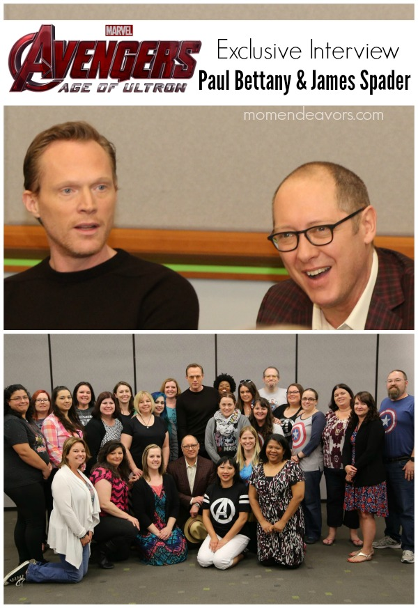 James Spader & Paul Bettany Avengers Interview