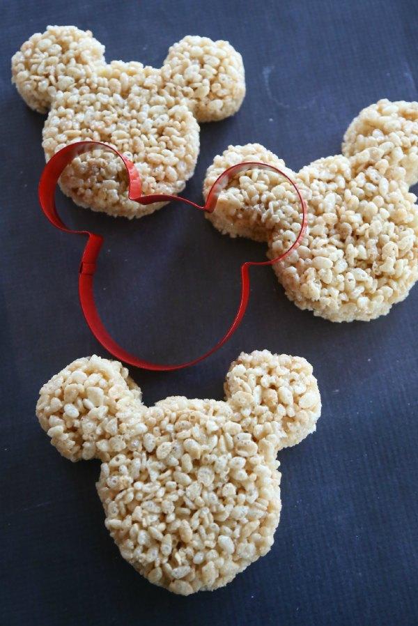 Mickey Rice Krispies Treats