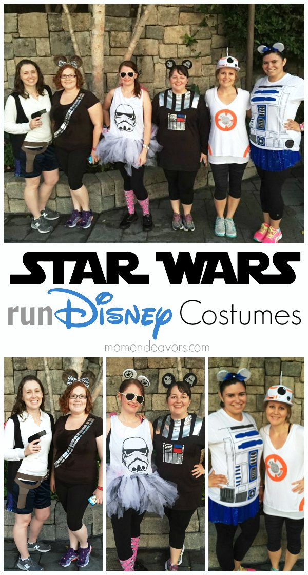 Star Wars Run Disney Costumes