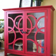 Easy Room Refresh with Elise Display Cabinet