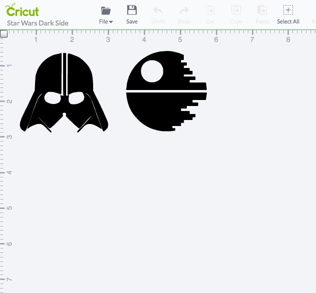 Cricut Explore Star Wars Project