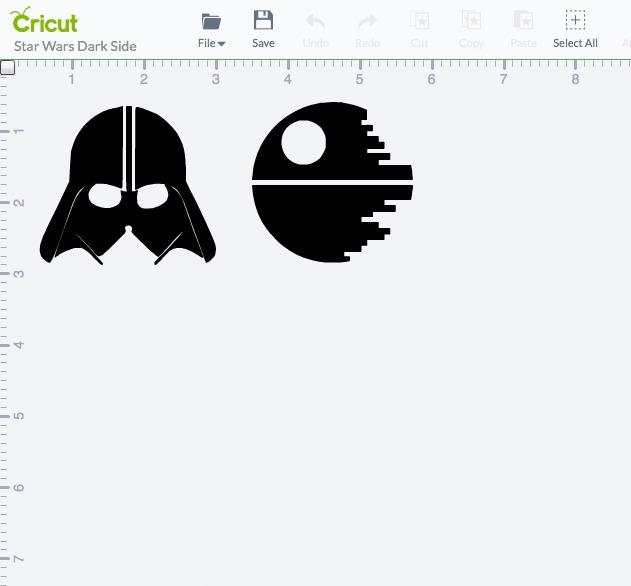Cricut Explore Star Wars Project