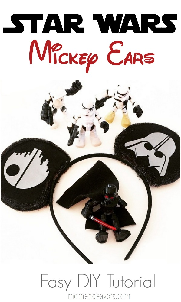 DIY Star Wars Mickey Ears
