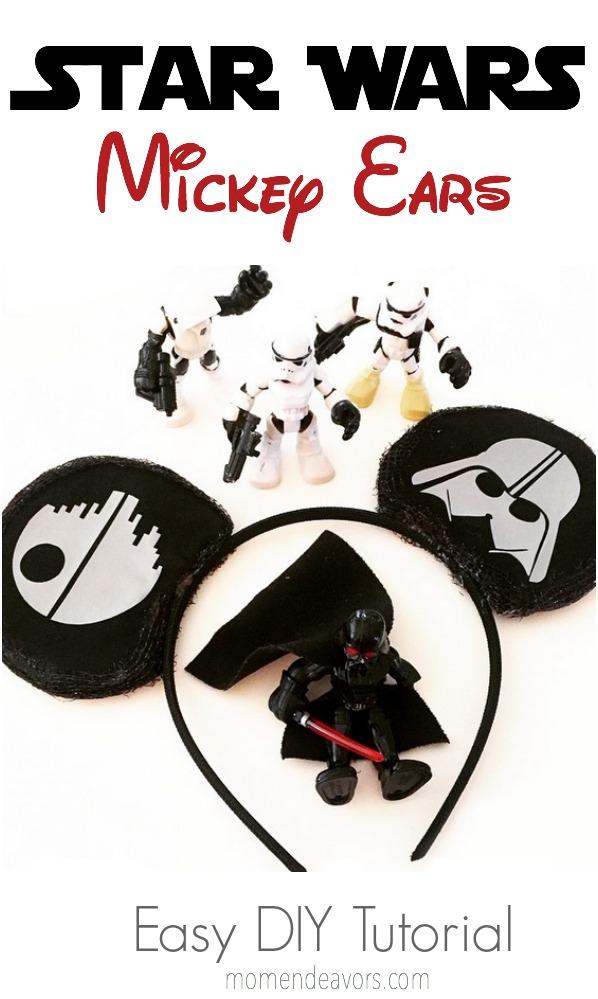 DIY Star Wars Mickey Ears