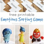 Disney-Pixar's Inside Out Emotions Sorting Game