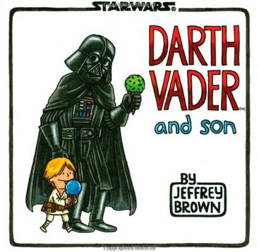 Father & Son Star Wars Book