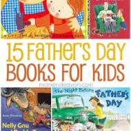 15+ Great Father's Day Books for Kids!