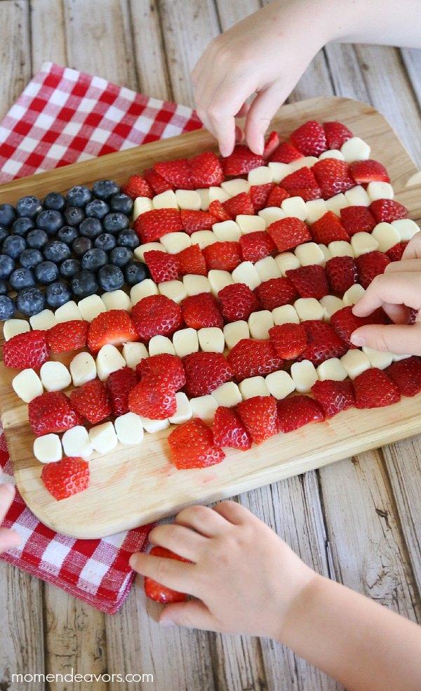 Healthy Patriotic Kids Snack