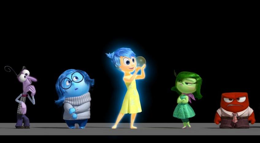 Pixar Inside Out Emotions