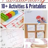 10+ Fun Handwriting Activities and Printables