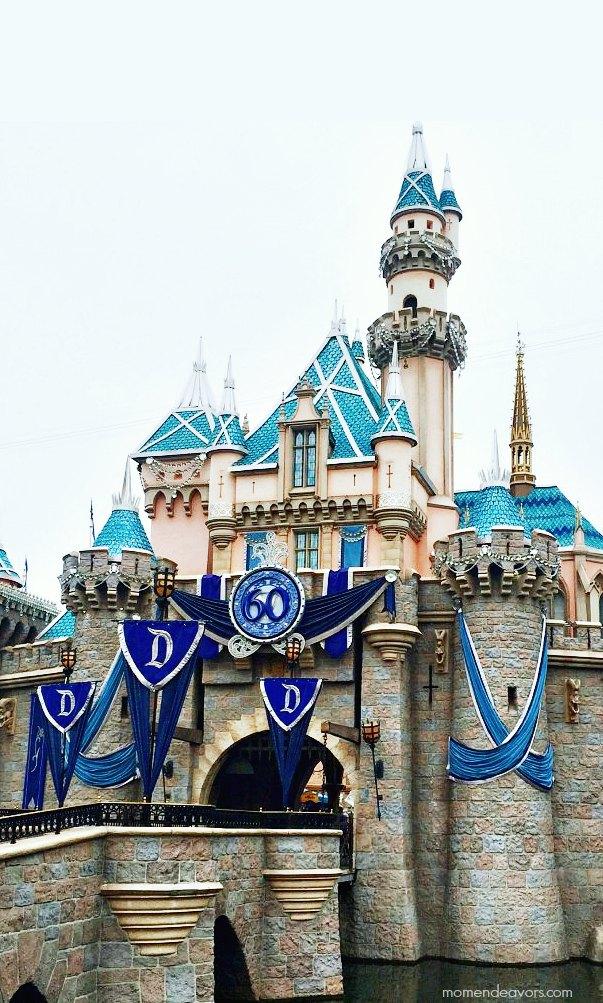 Disneyland 60 Castle