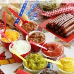 Grilling Party Hot Dog Bar