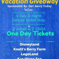 Magical Vacation Giveaway – Win Tickets to Disneyland!!!