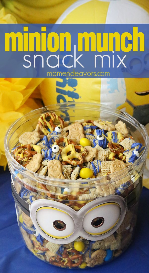 Minion Munch Snack Mix