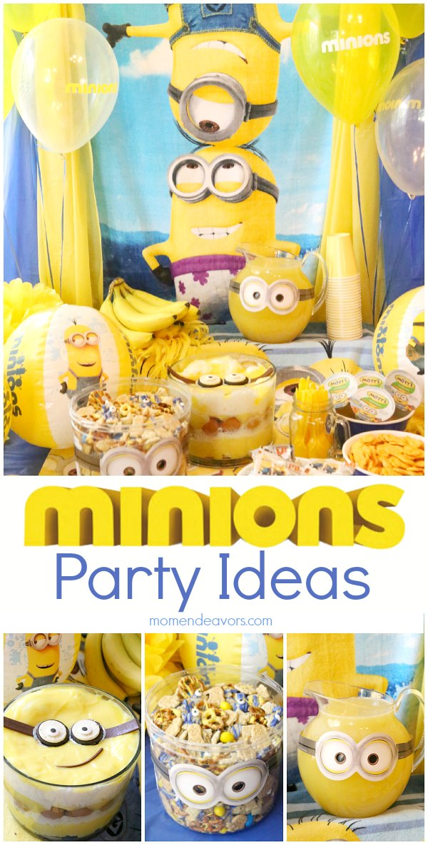 minions party ideas. Black Bedroom Furniture Sets. Home Design Ideas