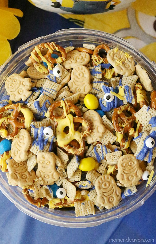 Minions Party Snack Mix
