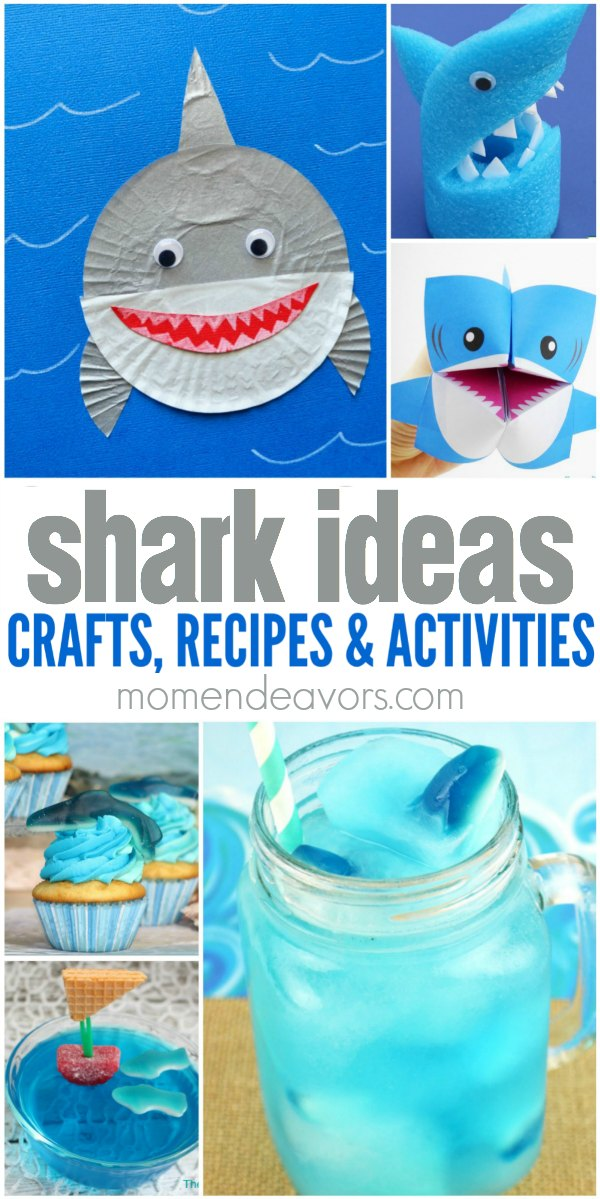 25 Shark Crafts Recipes And Activities on Shark Cootie Catcher
