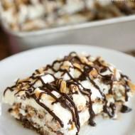 Hershey's S'mores Ice Box Cake