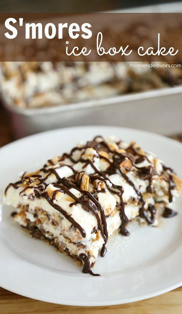 S'mores Ice Box Cake