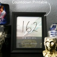 Star Wars: The Force Awakens – Countdown Printable