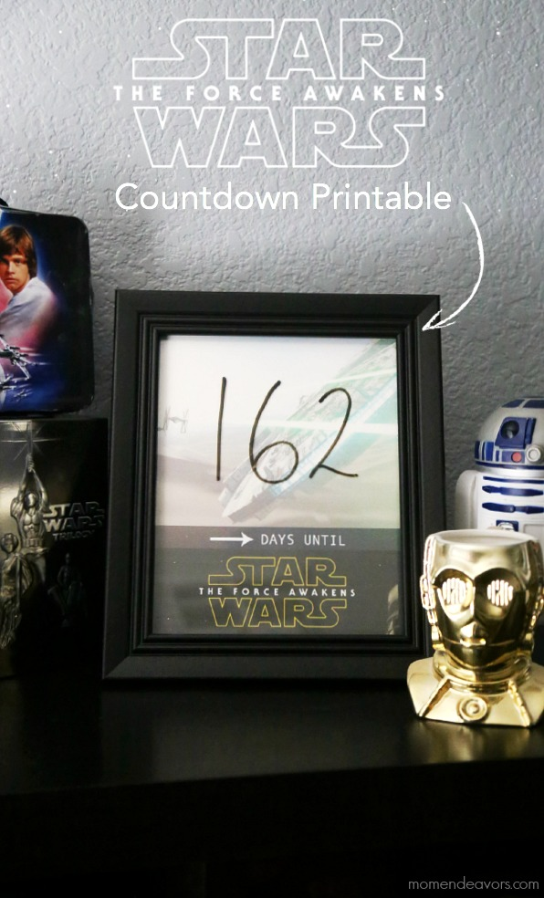 Star Wars The Force Awakens Countdown Calendar