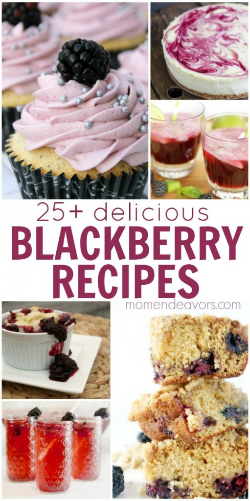 25+ Blackberry Recipes