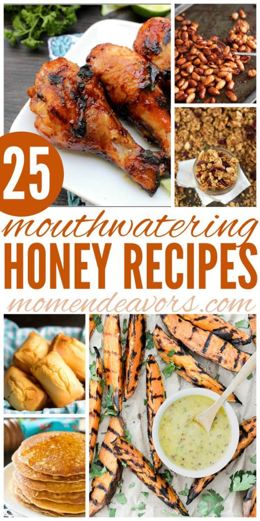 25+ Honey Recipes