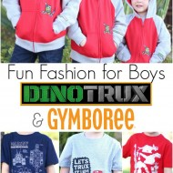 Fun Fashion for Boys – Dinotrux at Gymboree {+ $75 Giveaway!!}