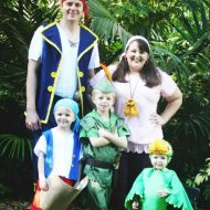 DIY Jake & the Never Land Pirates Family Costumes
