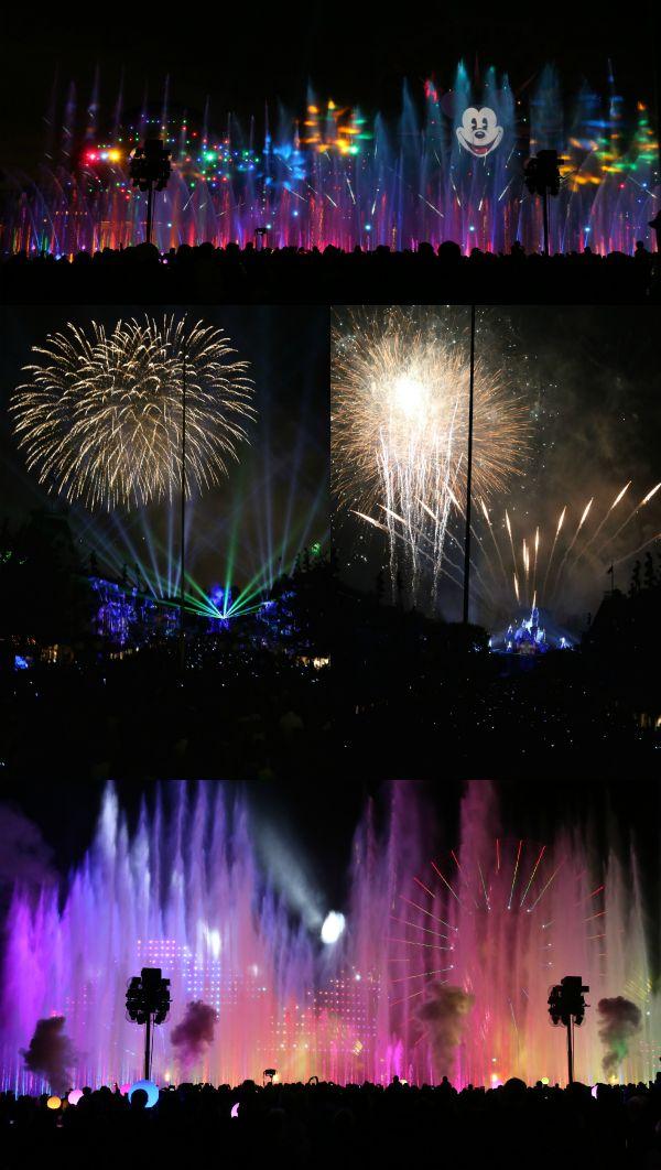 Disneyland Nighttime Shows