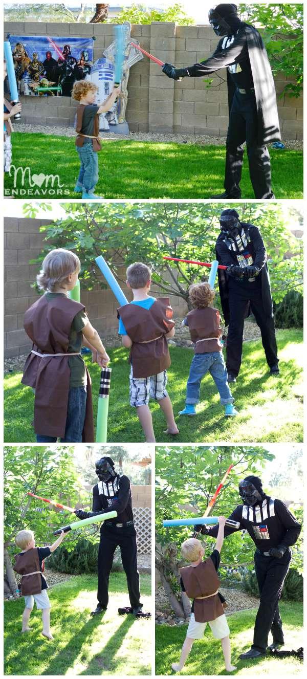 Fight Darth Vader Star Wars Party
