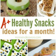 A Month of Healthy Snack Ideas – Easy & Creative Ideas