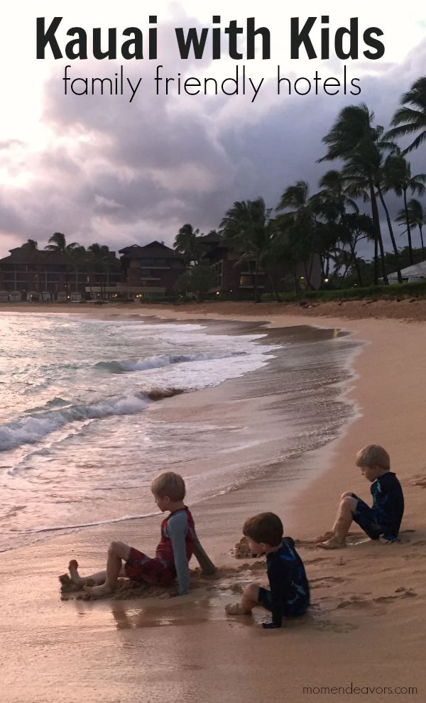 Kauai Family Friendly Hotels