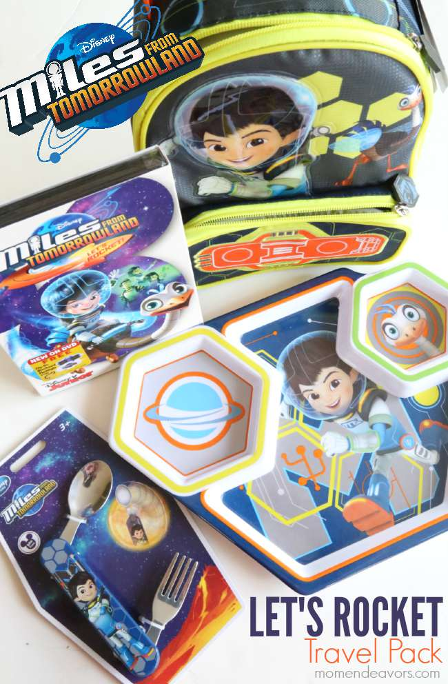 Miles from Tomorrowland Let's Rocket Travel Pack