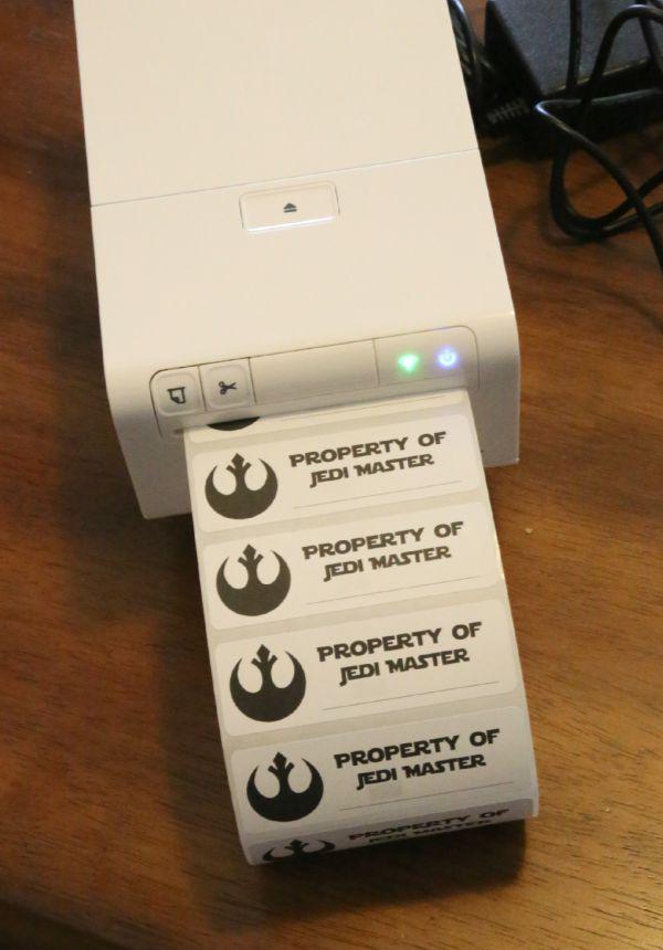 Printing Custom Labels